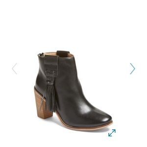 New Seychelles Raft Leather Black Boots 7.5 $160!
